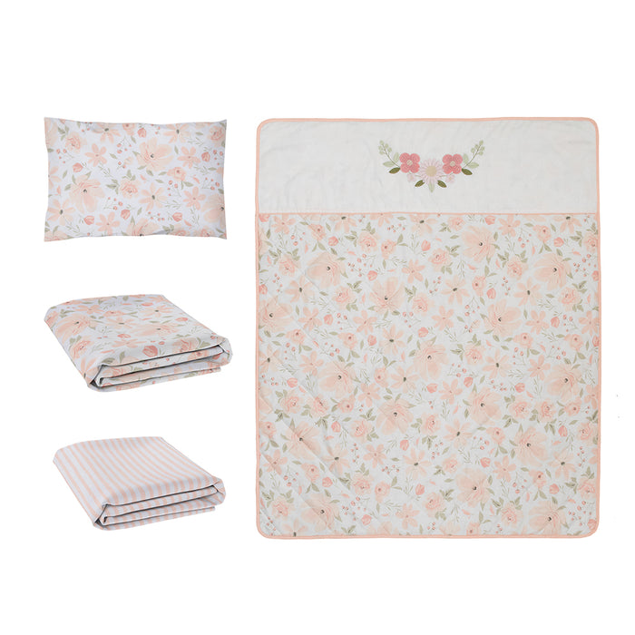 Living Textiles 4-piece Nursery Set Meadow