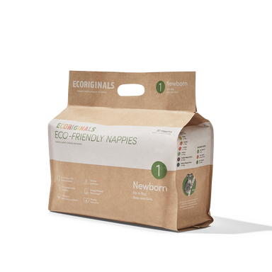 Ecoriginals Eco-Friendly Nappies - Newborn (4-6kg)