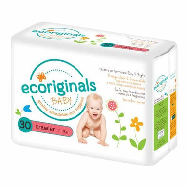 Ecoriginals Crawler Nappies (7-13kg) - LOW STOCK