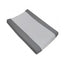 Living Textiles Jersey Change Pad Cover Grey Stripe