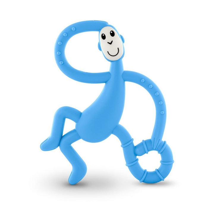 Matchstick Dancing Monkey Teether Baby Blue