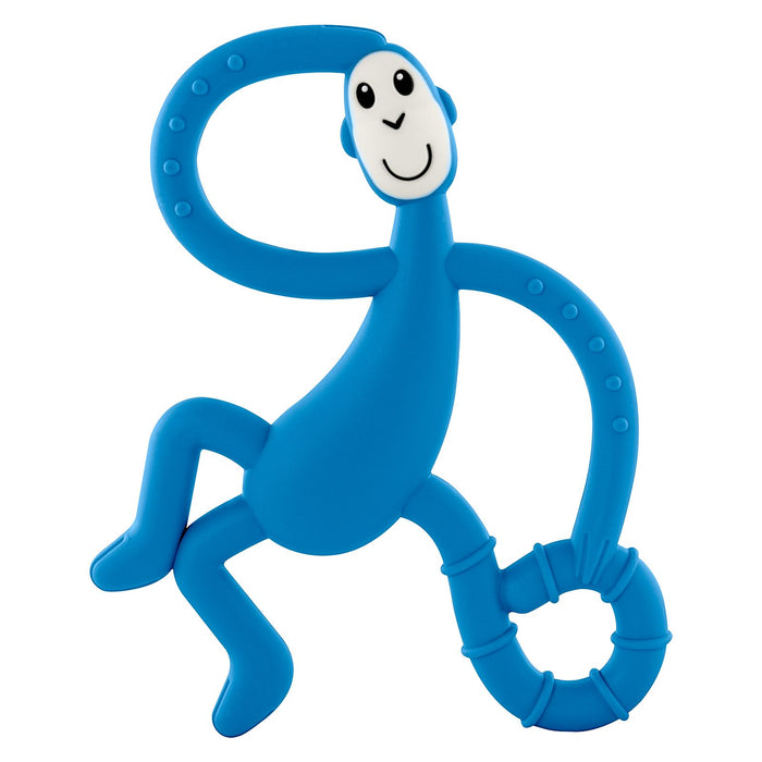Matchstick Dancing Monkey Teether Blue