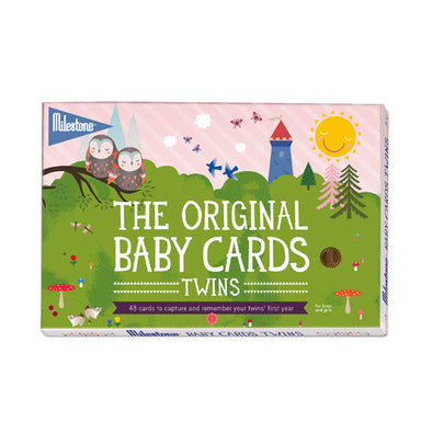 Milestone The Original Baby Cards Twins - CLEARANCE