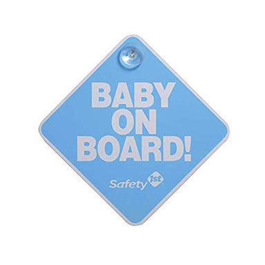 Safety 1st Baby On Board Sign Blue