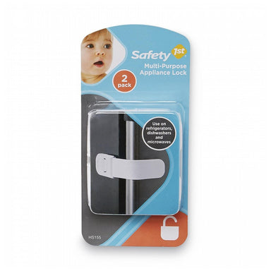 Safety 1st Multi Purpose Appliance Lock 2 Pack White