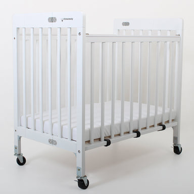 Valco Baby Stowaway Foldable Wooden Cot White PRE ORDER END OF MAY