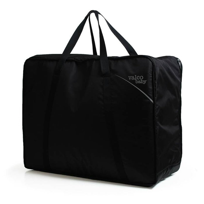 Valco Baby Double Pram Universal Storage Travel Bag Black