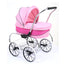 Valco Baby Princess Dolls Pram Hot Pink