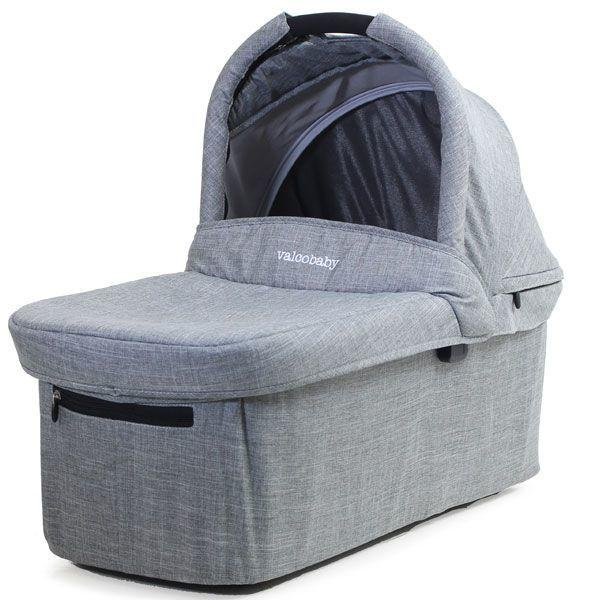 Valco Baby Snap Ultra Trend Bassinet Grey Marle