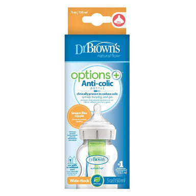 Dr Browns Options+ Wide Neck 150ml Feeding Bottle