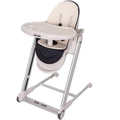 Love N Care Pandora Highchair Black Silver Frame