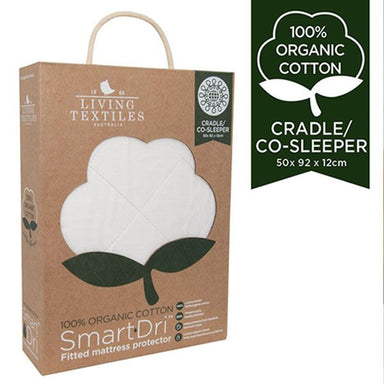 Living Textiles Organic Smart-Dri Cradle/Co-Sleeper Mattress Protector