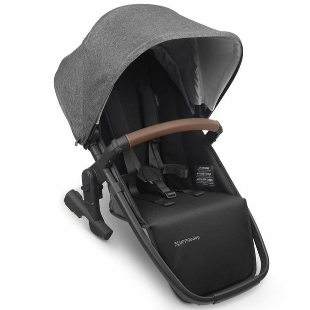 UPPAbaby VISTA V2 Rumble Seat Charcoal Melange (Greyson) - PRE ORDER MID/LATE JULY