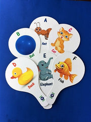 ALPHABET FLASHCARD TEACHING PADDLES - ENGLISH