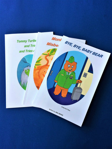 SHORT STORY PACKAGE - 3 STORIES FOR TODDLERS