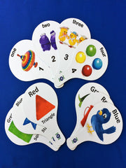 FLASHCARD TEACHING PADDLES PACKAGE - ENGLISH