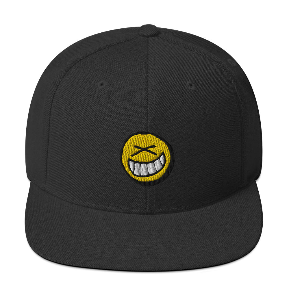 Smiley Snapback Hat