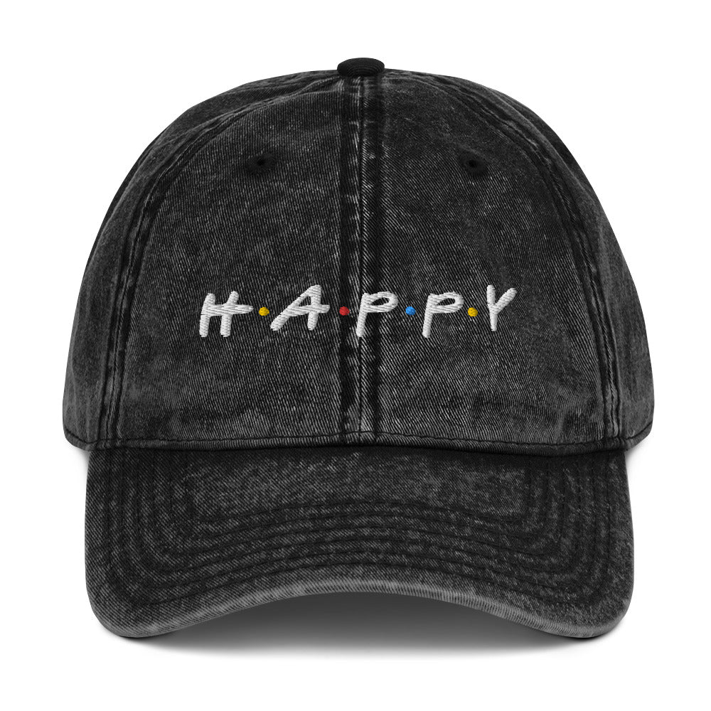 Happy Vintage Hat