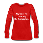Load image into Gallery viewer, Women's Premium Long Sleeve T-Shirt - red
