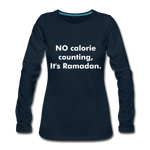 Load image into Gallery viewer, Women's Premium Long Sleeve T-Shirt - deep navy