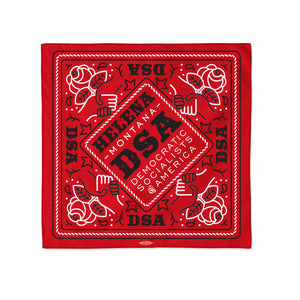 Union-printed and USA-made Custom Campaign Bandana
