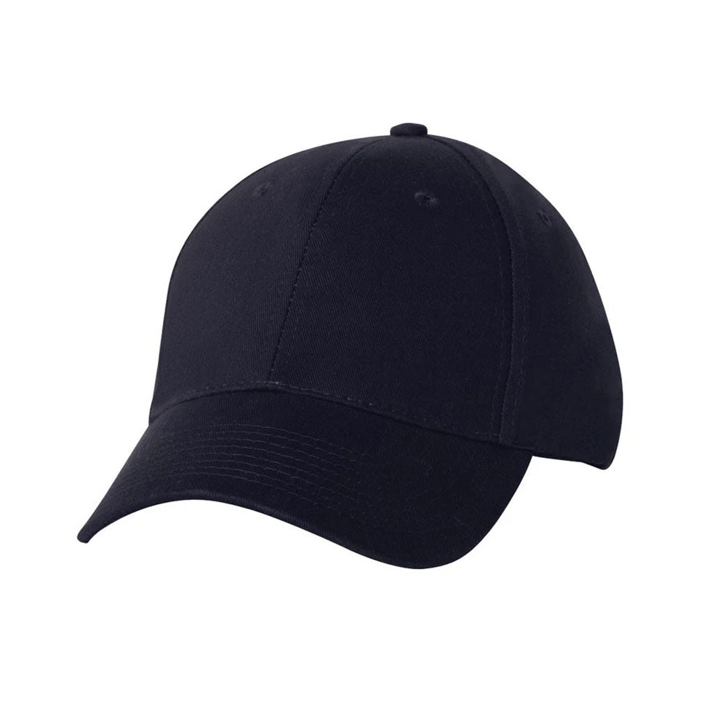 USA Made Navy Blue Structured Chino Twill Cap