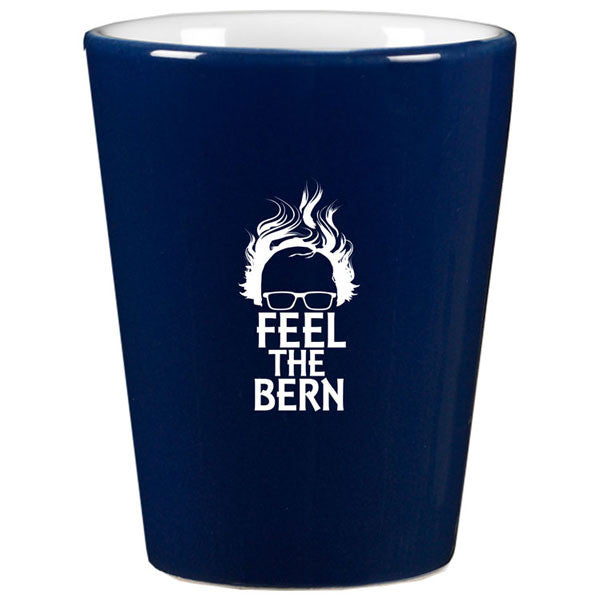 Bernie Sanders Feel The Bern Shot Glass
