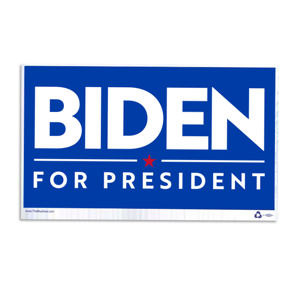 Joe Biden Sign Only - No Frame