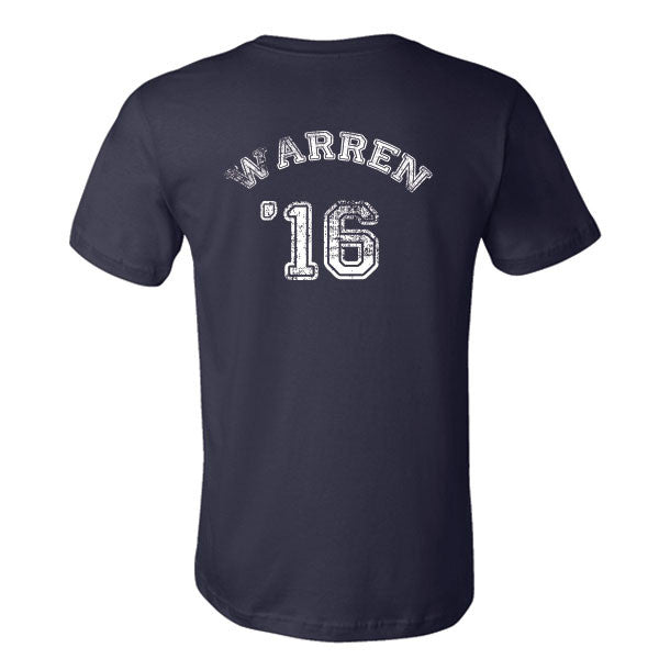 Elizabeth Warren for President T-Shirt (back side)
