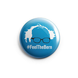 Feel the Bern Mini Button