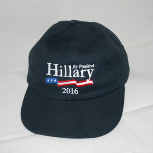 Hillary Clinton Navy Blue Unstructured Cap - Embroidered