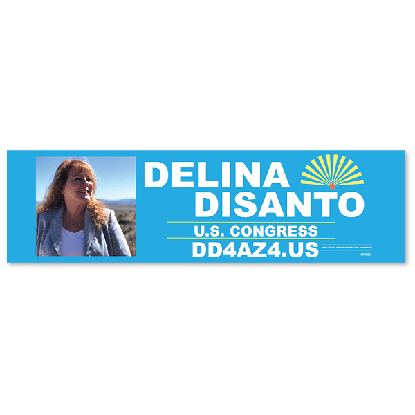 "Full Color Union Printed Magnetic Bumper Stickers (3"" x 11.5"")"
