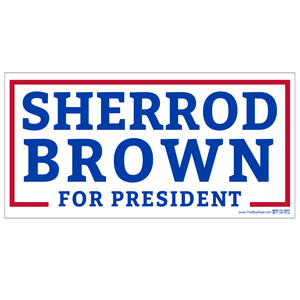 Sherrod Brown for President Bumper Sticker