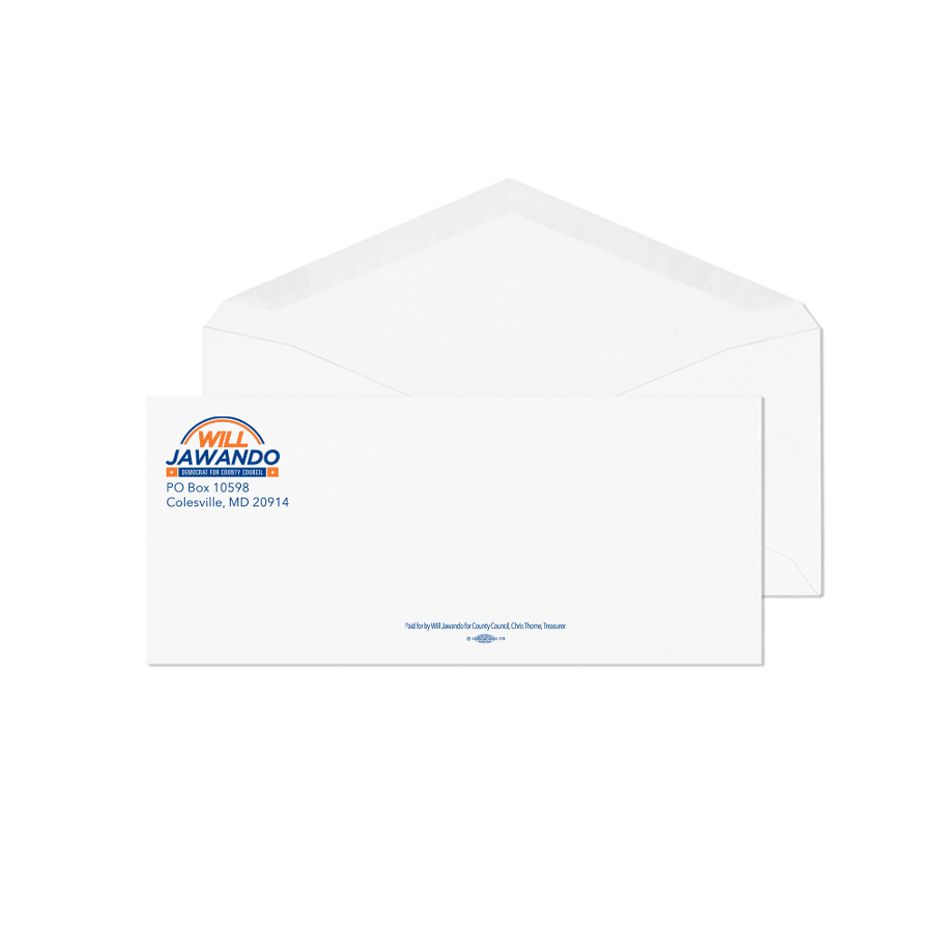 Union Printed & USA Made Full Color Envelopes