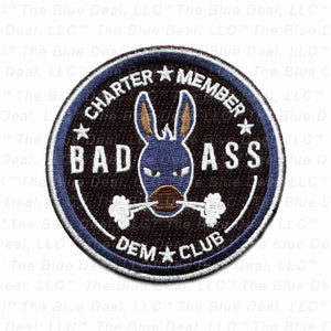 Bad Ass Dem Club Patch