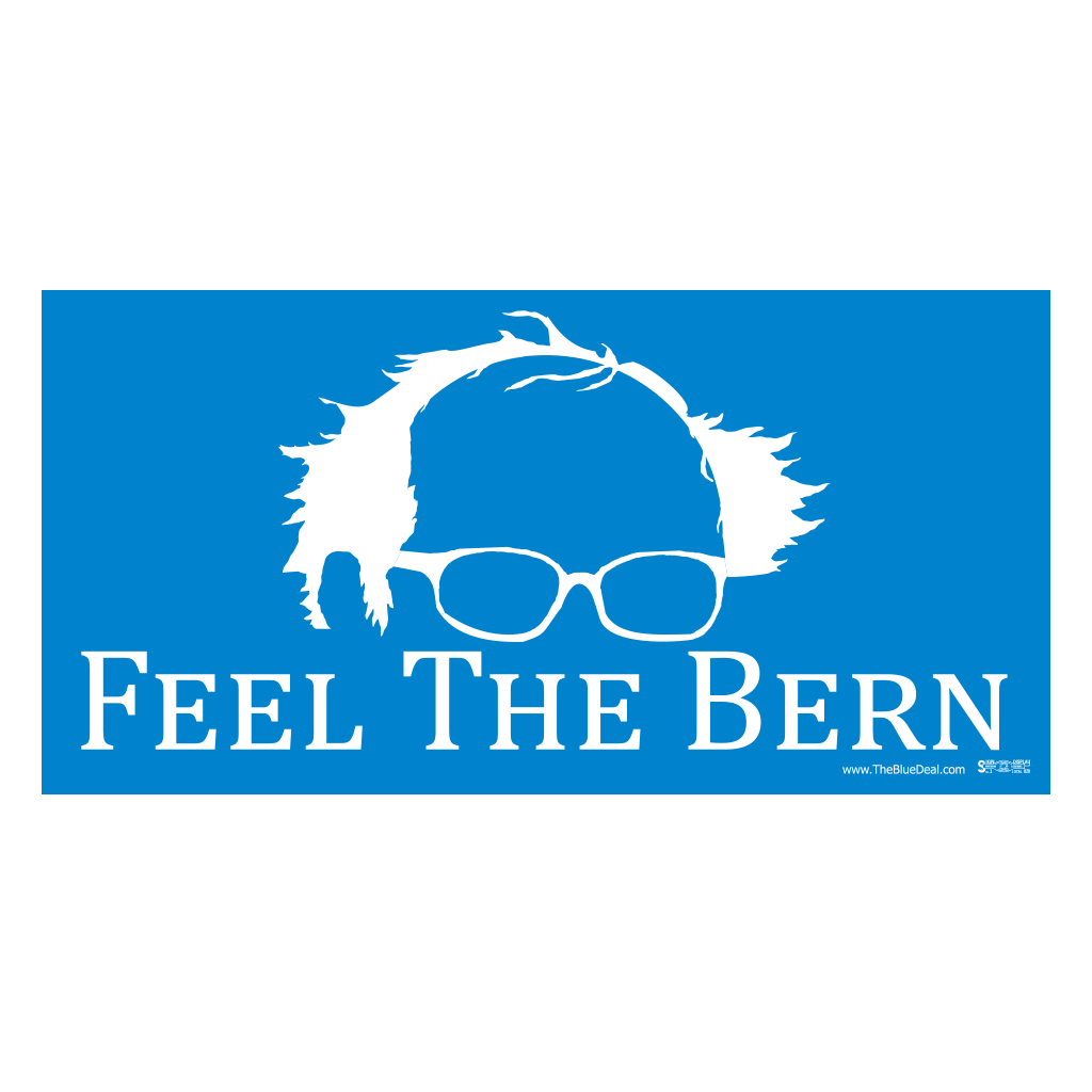 Feel The Bern Bumper Sticker