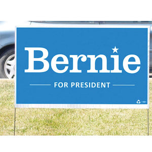 Bernie Sanders Yard Sign