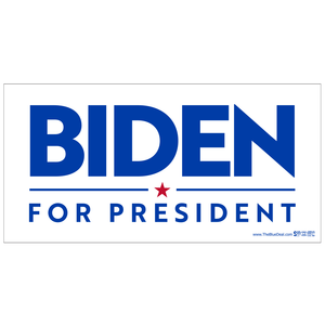 Joe Biden for President White Bumper Sticker