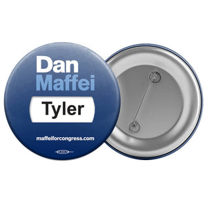 Union Printed & USA Made Campaign Window Buttons