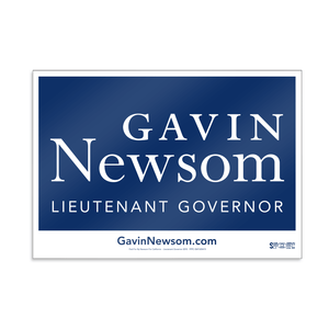 "Union Printed Double-Sided Campaign Rally Signs (11"" x 17"")"