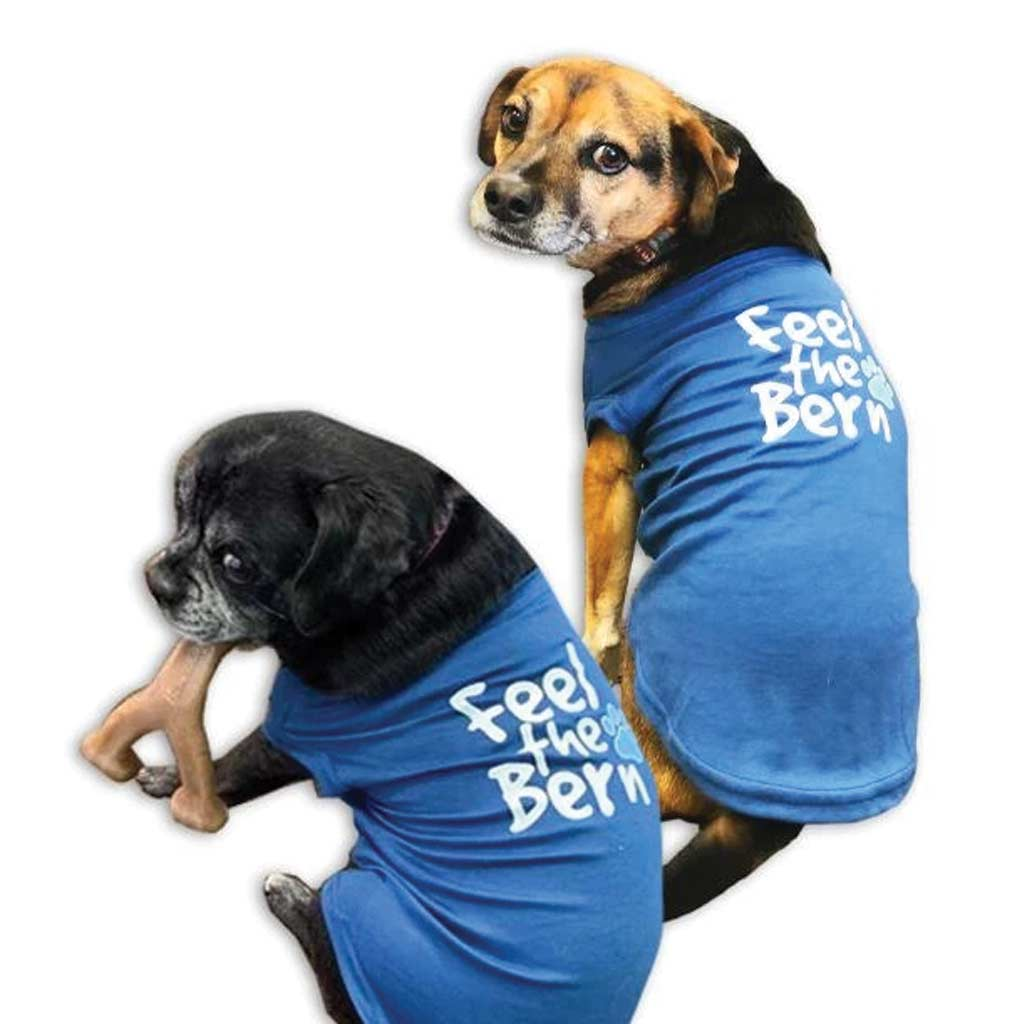 Feel the Bern Dog T-Shirt