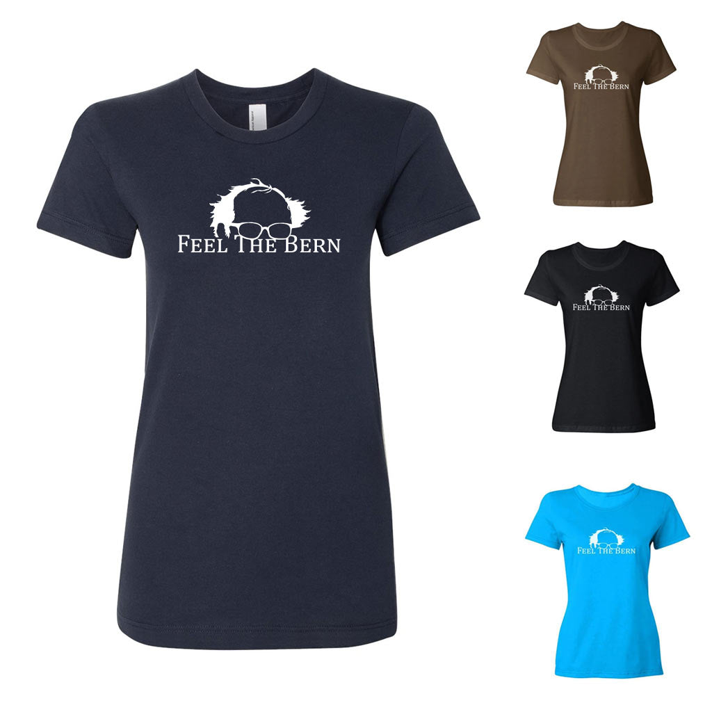 Feel The Bern Ladies' T-Shirt