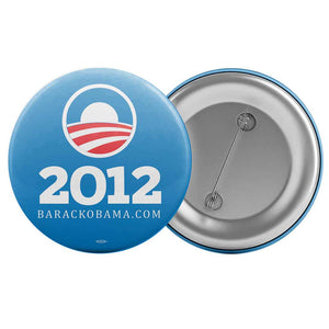 "Obama 2012 Blue Logo Button (2.25"" Round)"
