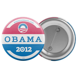 "Obama Red White and Blue Button (2.25"")"