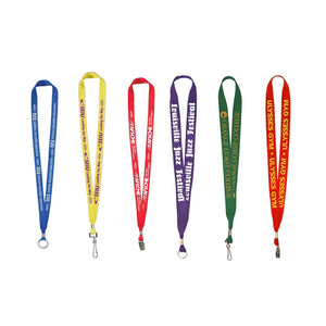 "Union Printed & USA Made 1"" Lanyards"