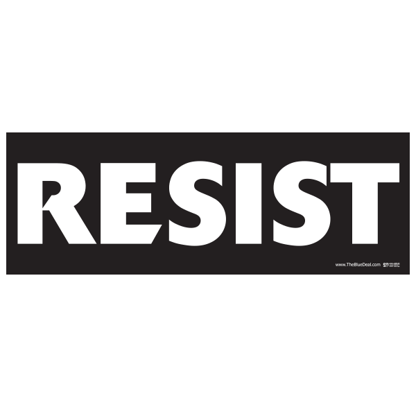 Resist Donald Trump Bumper Sticker