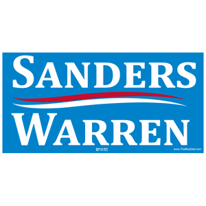 Sanders / Warren Bumper Sticker