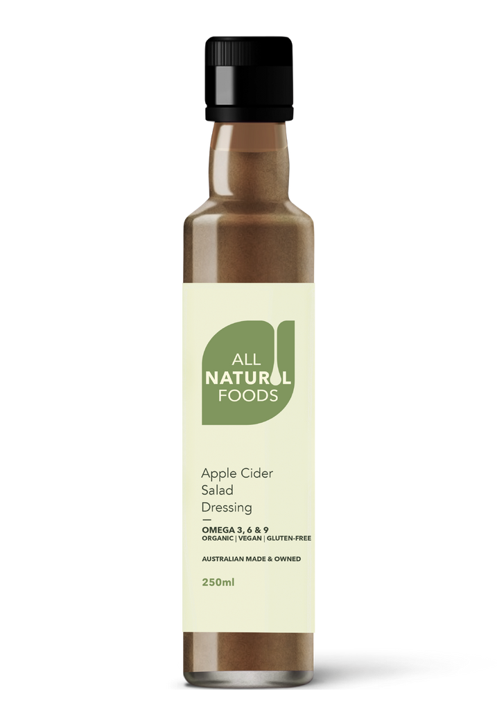 All Natural Food's Apple Cider Salad Dressing