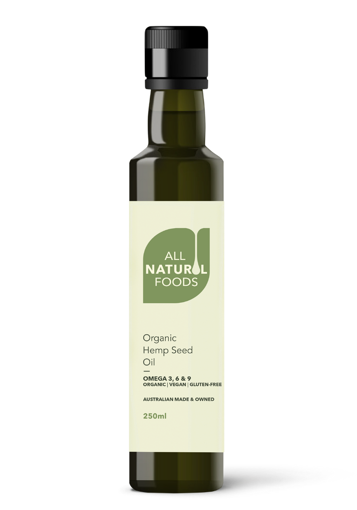 All Natural Food's Organic Hemp Seed Oil