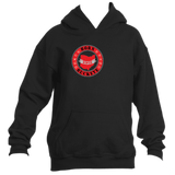 Youth Banner State Black w/Red Pullover Hoodie